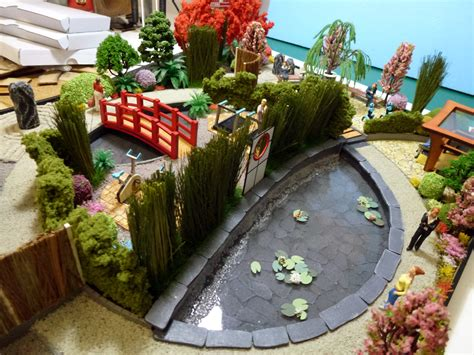 funky lemon design scale landscape garden model scale architectural model maker specialisits