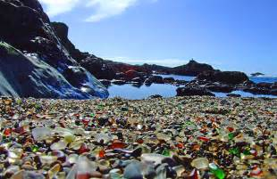 glass beaches dreams happy things glass beach