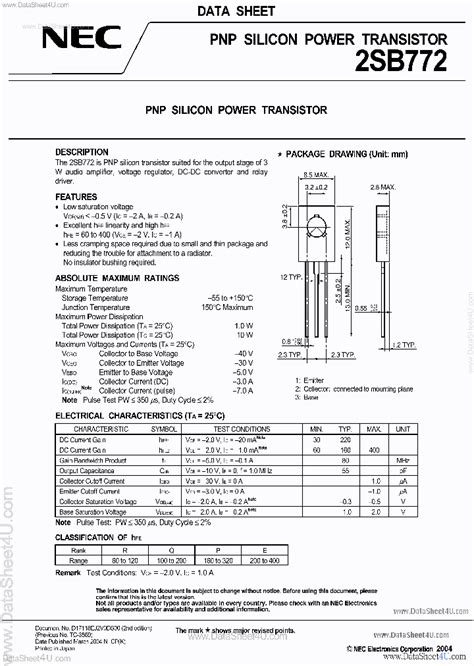 b772p 180833 pdf datasheet ic on line