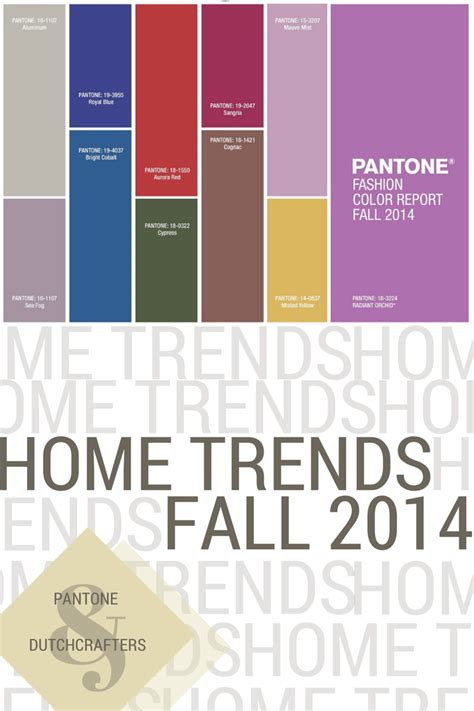 2014 home trends pantone dutchcrafters home trends fall 2014 timber to table