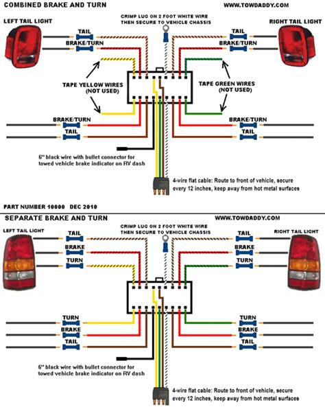 tow daddy plug  tow wiring universal kit