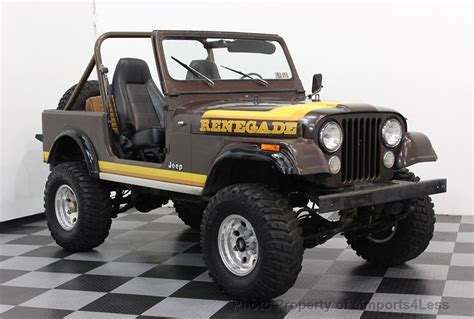 Used Jeep Parts In Pa 1982 Used Jeep Wrangler Cj7 Renegade 4x4 At Eimports4less