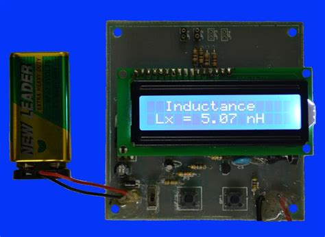inductance meter lm311 inductance meter microchip 28 images ទស សន វដ ដ អ ឡ ចត រ ន ចកម ព ជ pic18f usb lc meter 181