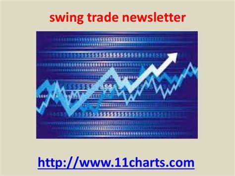 Swing Trade Stocking Trading Newsletter