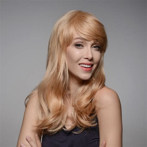 real hair wigs for women over 70 8 colors long human hair wig side bang virgin remy mono