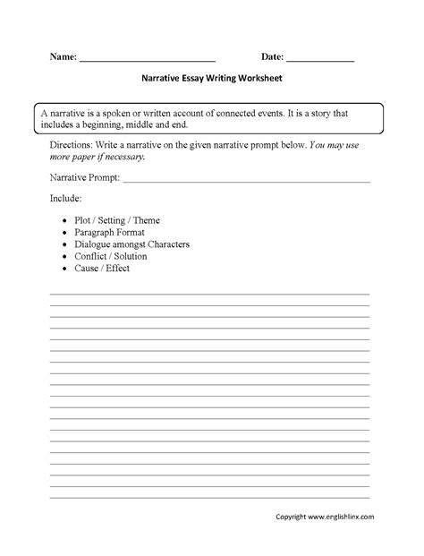 essay structure handout 16 best images of basic cause and effect worksheets