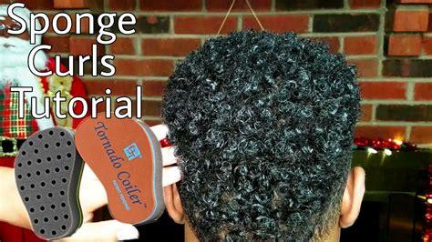 how to sponge hair correctly sponge curls tutorial men women how to style short