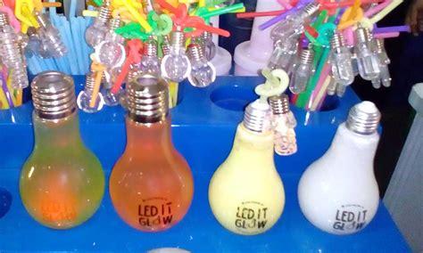 Jual Plastik Tahan Panas Untuk Mengukus by Minuman Led It Glow Til Unik Di Botol Bentuk Lu