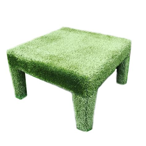 Grass Coffee Table Square Faux Grass Coffee Table Mecox Gardens