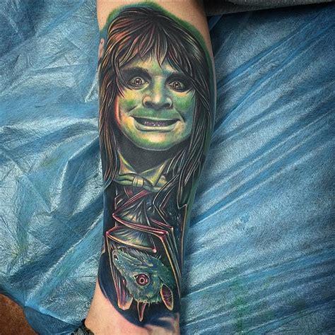 ozzy tattoos bat ozzy best ideas gallery