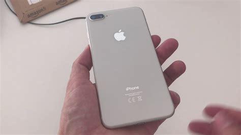 iphone 8 plus argent pr 233 sentation et d 233 ballage tech tribu