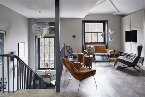 loft apartment  stylish design  london