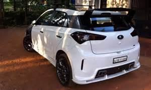 Hyundai Mods Continued Ten Awesome Modified Hyundai Elite I20s Of India