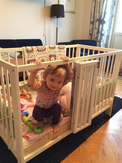 best 25 ikea crib hack ideas on baby bedside