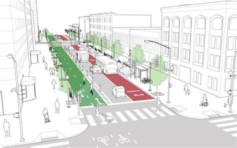 geometric design criteria for urban streets directdot new complete streets policy for baltimore
