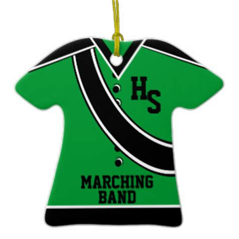 school marching band christmas ornament