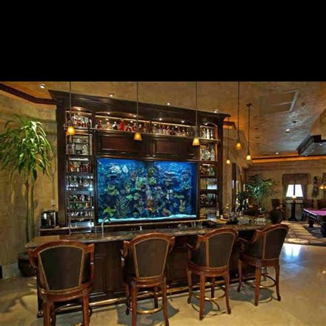 fish tank bar top fish tank bar basement bar ideas pinterest fish