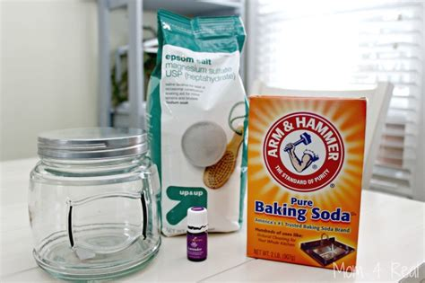 Detox Epson Salt 3 Cups Baking Soda by Lavender Bath Salts For Destressing And Detoxing