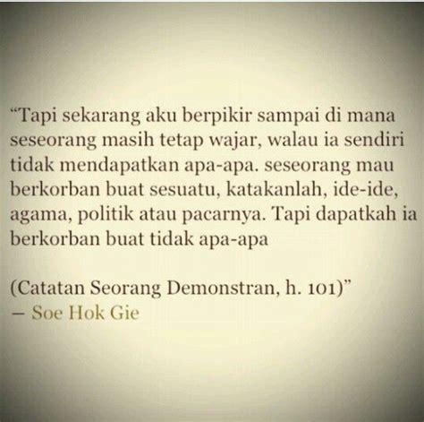 Soe Hok Gie Quotes soe hok gie inspirator