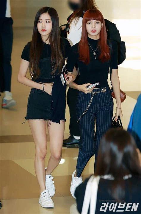 blackpink fashion airport blackpink airport fashion k pop amino