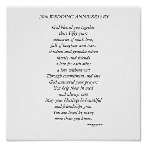 50th wedding anniversary poems our wedding poems and quotes quotesgram