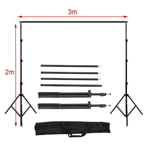 photography backdrops and lighting kits photo studio background umbrella support continuous