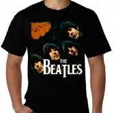 Kaos Anime The Beatles Putih Kaos The Beatles Kaos Premium