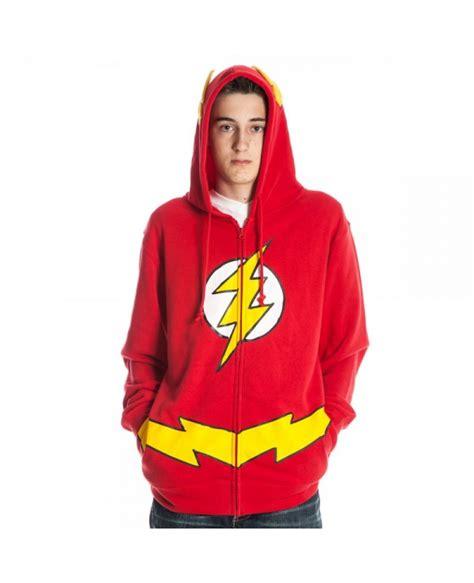 Hoodie The Flash 1 Hitam Merch the flash hoodie costume