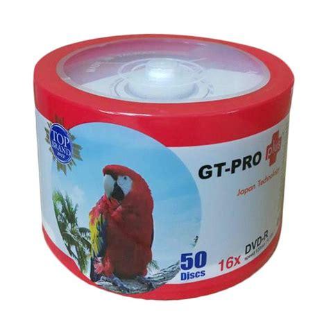 Cd R Gt Pro 50 Pcs jual gt pro 16x tipe burung dvd r 50 pcs harga