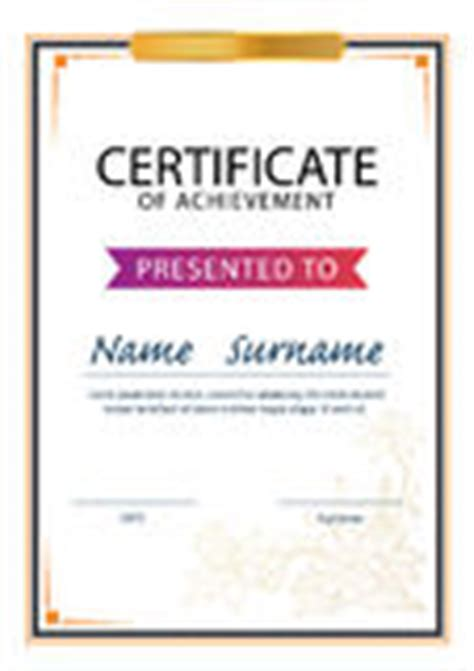 certificate template size diploma or certificate border a4 vector royalty free