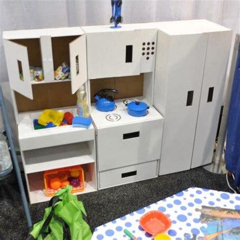Cardboard Kitchen by Home Dzine Craft Ideas Creative Cardboard For