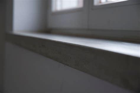 beton fensterb 228 nke innen betoniu - Fensterbank Innen Beton