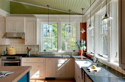 стильный интерьер кухни с окном оригинальные идеи Kitchen Window House Plans