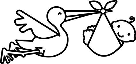 baby shower coloring pages bird and baby shower pictures coloring page