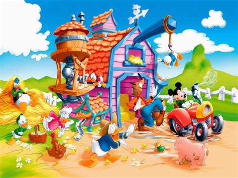 wallpaper karakter disney gallery gambar kartun mickey mouse lucu terbaru gambar