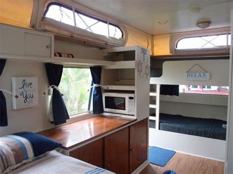 caravan interiors 25 best ideas about caravan bunks on caravan