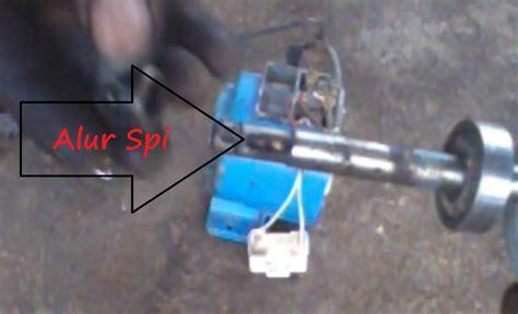 Mesin Bor Air Bekas modifikasi bekas pompa air menjadi mesin bor tangan