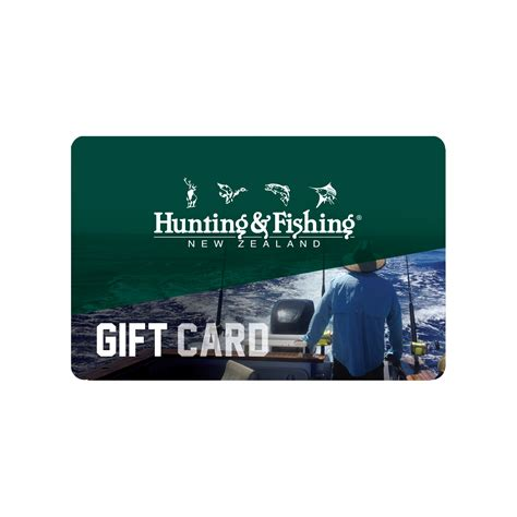 Fishing Gift Cards - hunting fishing new zealand gift card saltwater