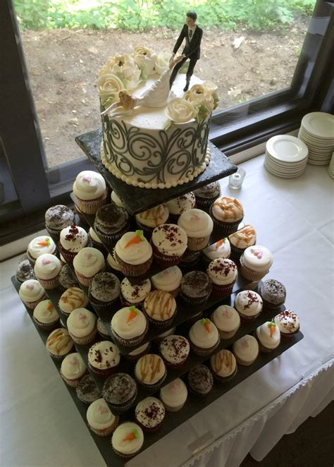 Wedding Cupcake by Wedding Cupcakes White Flower Cake Shoppe