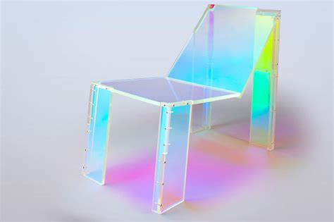 touch couch a neon ghost chair inspired by daft punk freshome