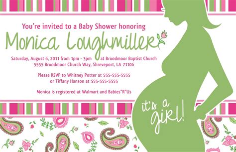 When To Your Baby Shower project of the week baby shower invite create