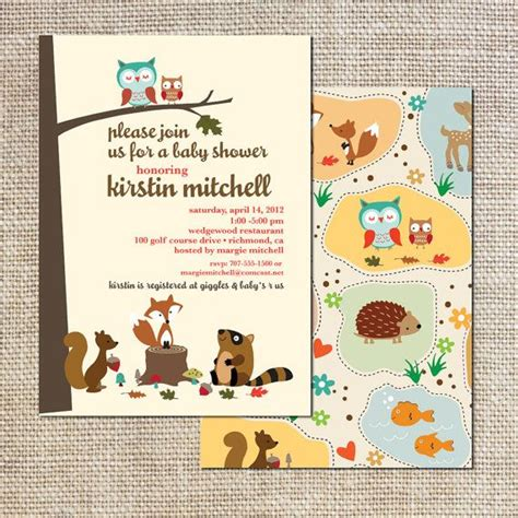Woodland Critters Baby Shower by 53 Best Images About Woodland Critters Baby Shower On