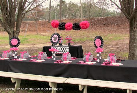 minnie mouse backyard party budget party planning ideas for kids uncommon designs