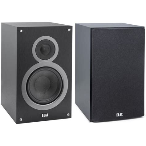 elac debut b6 2 way bass reflex bookshelf speakers in