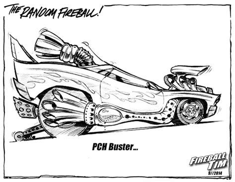 Pch Drawing - today s random fireball comic is all pch bustin cartoon cartooning