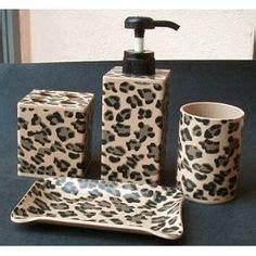 leopard bathroom set walmart 1000 ideas about leopard print bathroom on pinterest