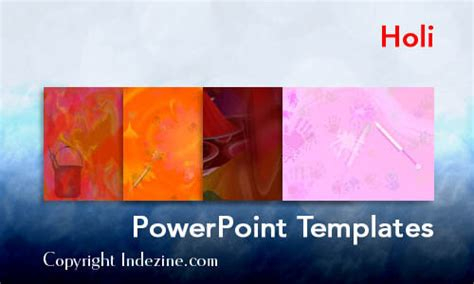 ppt templates for holi holi powerpoint templates