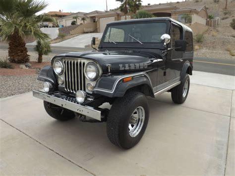 Jeep Cj For Sale Arizona Original Year Black Laredo Cj7