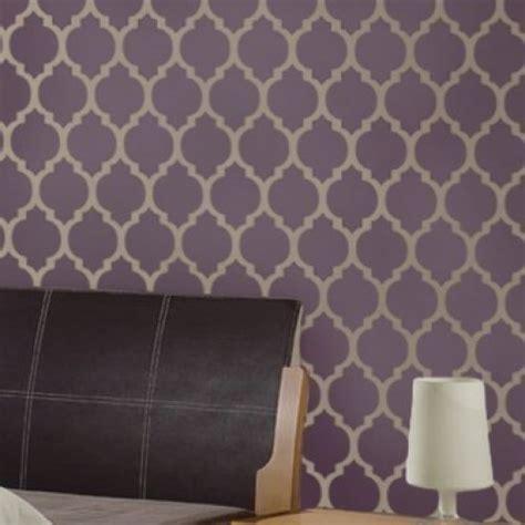 wall pattern material moroccan stencil casablanca reusable stencils for walls