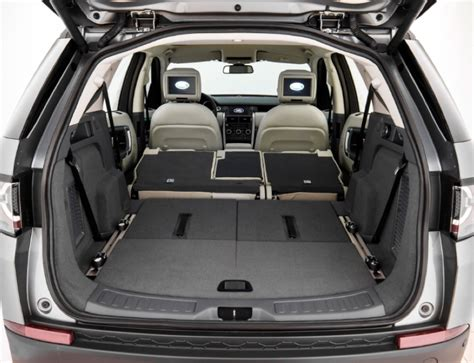 land rover discovery sport rear seats fold spin 2015 land rover discovery sport the daily